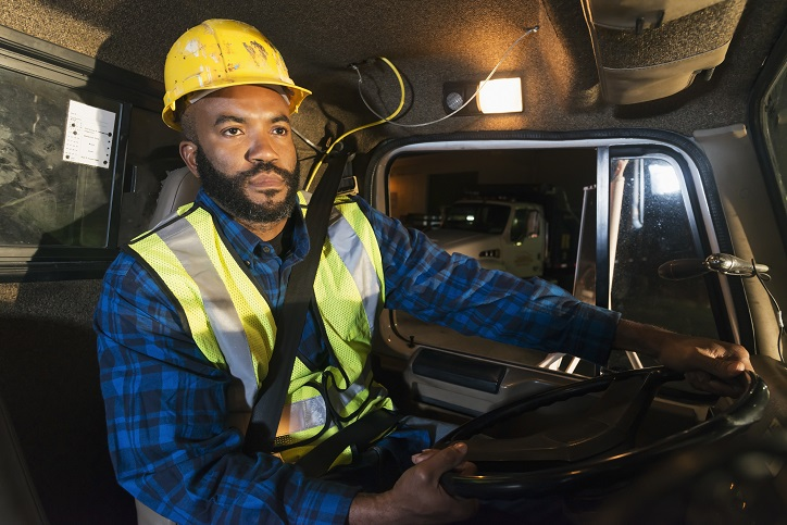 Construction worker travel